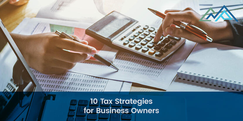 10 Tax Strategies for Business Owners - 1