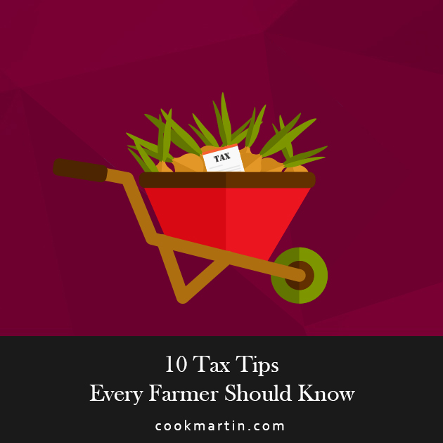 10 Tax Tips Every Farmer Should Know