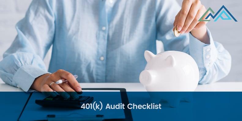 401(k) Audit Checklist - 1-1