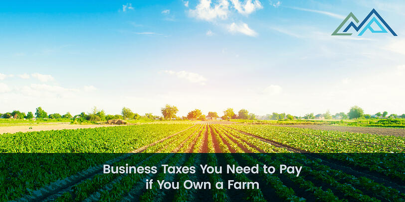 Business Taxes You Need to Pay if You Own a Farm - 1