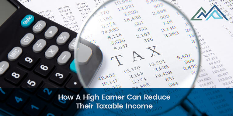 How A High Earner Can Reduce Their Taxable Income - 1