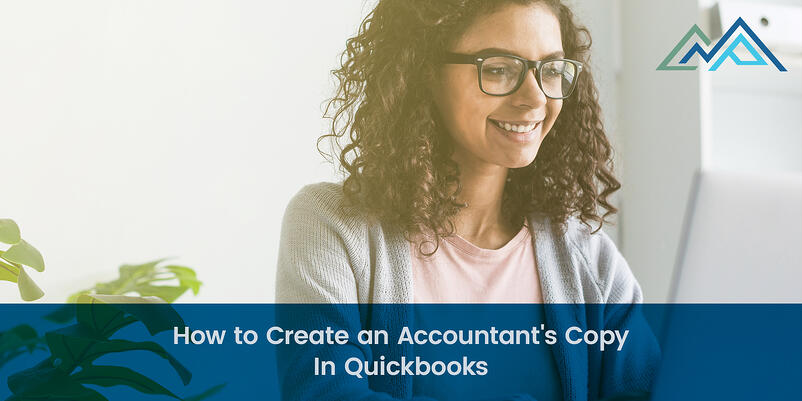 How to Create an Accountants Copy In Quickbooks - 1