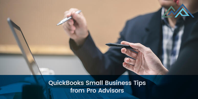 QuickBooks Small Business Tips from Pro Advisors-1