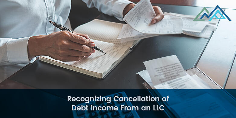 Recognizing Cancellation of Debt Income From an LLC - 1