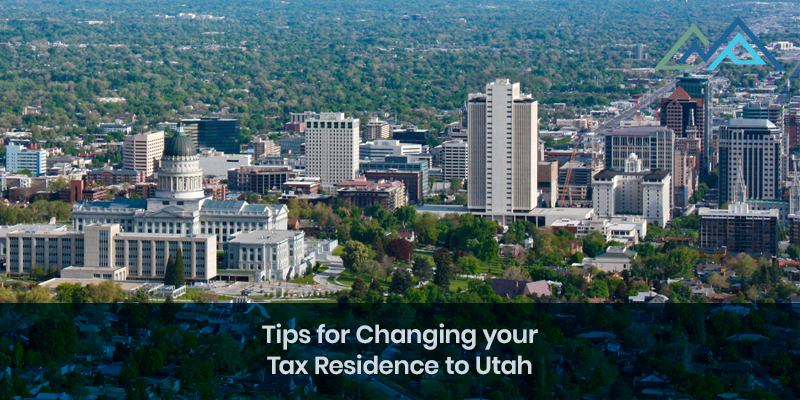 Tips for Changing your Tax Residence to Utah - Inside Blog
