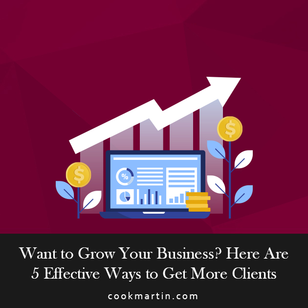 Want to Grow Your Business Here Are 5 Effective Ways to Get More Clients