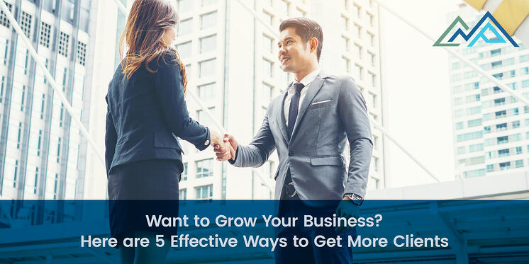 Want to Grow Your Business Here are 5 Effective Ways to Get More Clients - 1