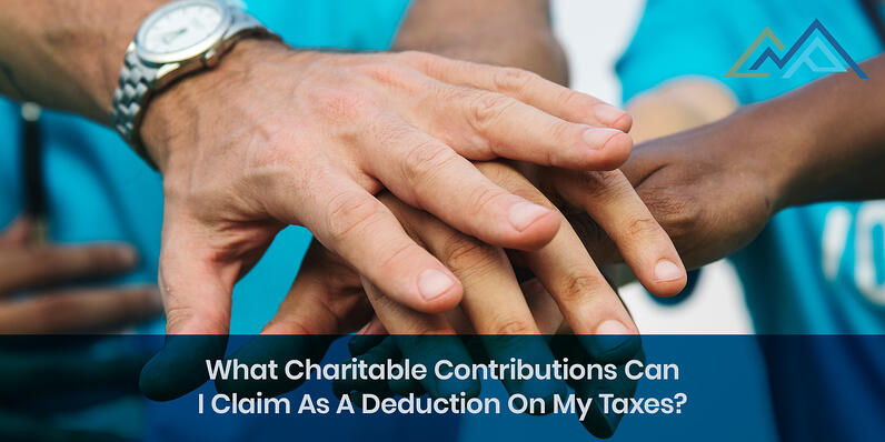 What Charitable Contributions Can I Claim As A Deduction On My Taxes - 1