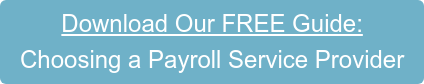 Download Our FREE Guide: How to Choose a Payroll Service Provider for Your Company